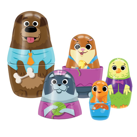 Little Classics Family Pets Tin Nesting Doll picture