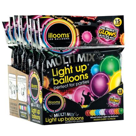 illooms Balloon 15pk plain picture