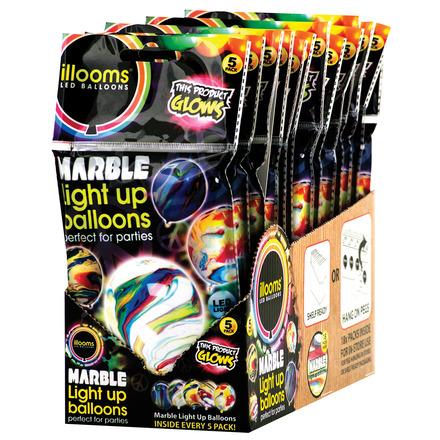 illooms Balloon 5pk Marble picture