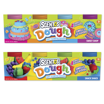 Scented 5oz Dough Tubs - 4pk picture