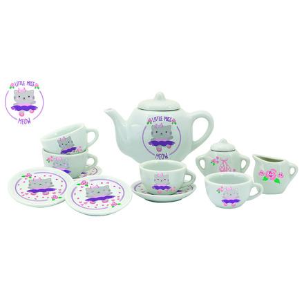 Little Miss Meow Tea Set picture