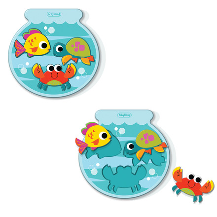 Fishbowl Puzzle - Lil Classics picture