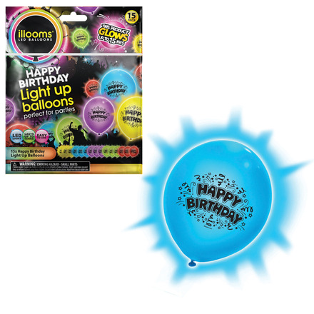 illooms Happy Birthday - 15pk picture