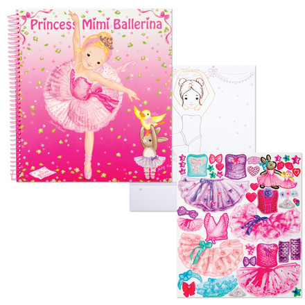 My Style Princess Ballerina Coloring Book picture