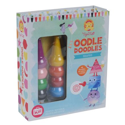 Oodle Doodles Crayon Set Shapes picture
