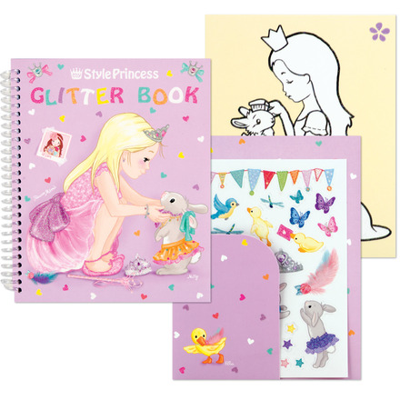 My Style Princess Glitter Coloring Book picture
