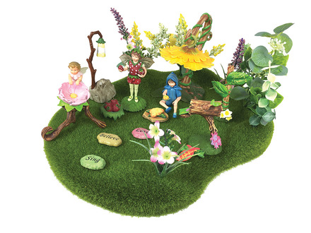 Flower Faires Moss Landscape picture