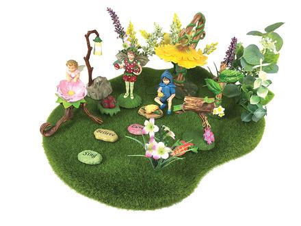 Flower Faires Moss Landscape picture