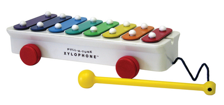 Fisher Price Pull-A-Tune Xylophone&#8482 picture
