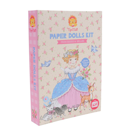 Paper Dolls Kit Princesses & Belles picture
