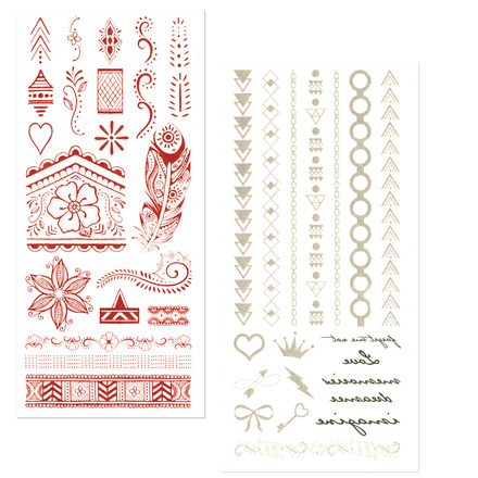 Metallic Tattoos picture