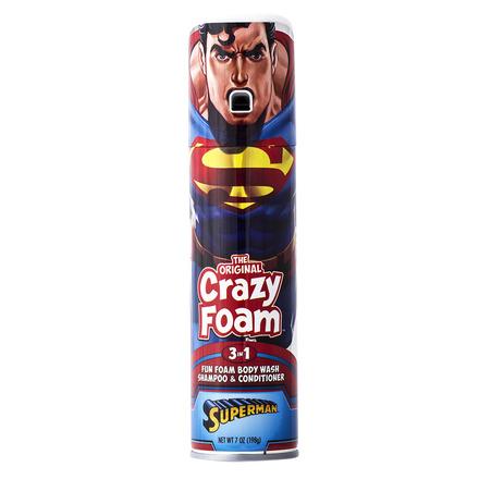 Crazy Foam Justice League Superman picture