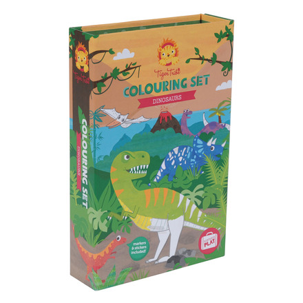 Colouring Set Dinosaurs picture