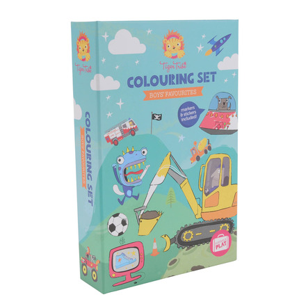 Colouring Set Boys Favorites picture