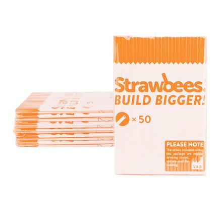 Strawbees Straws Orange picture