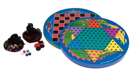 Tin Chinese Checkers picture