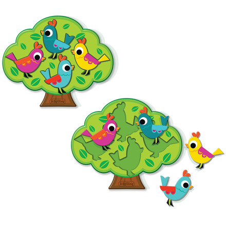 Birds In Tree Puzzle - Lil Classics picture