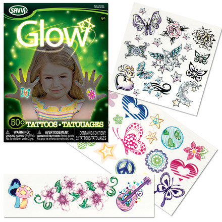 Glow in the Dark Tattoos for Girls picture