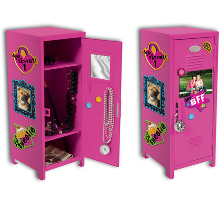 Girl Talk Locker W/ Magnets picture