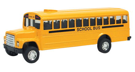 Die-Cast Bus, Pull-Back picture