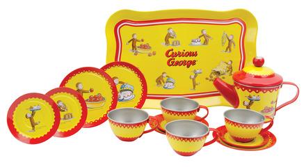 Curious George Tin Tea Set picture