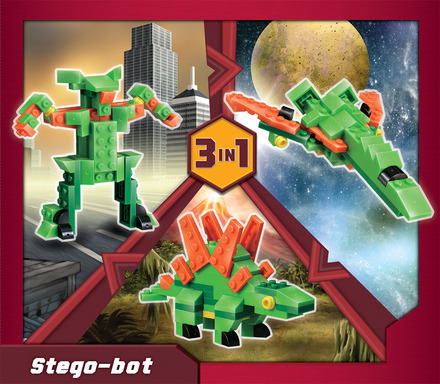 Terablock 3 in 1 Stego-bot picture