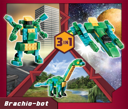 Terablock 3 in 1 Brachio-bot