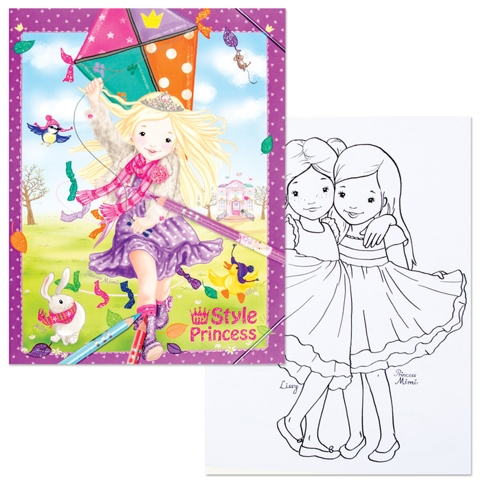 My Style Princess Coloring Book | Schylling