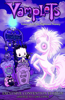 Vamplets: The Nightmare Nursery Vol 1 Hard Cover - Limited Edition Cover picture