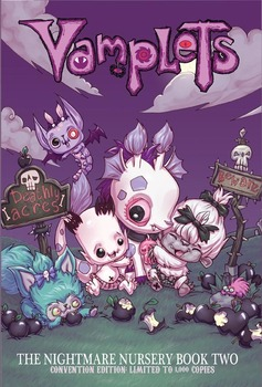 Vamplets: Nightmare Nursery Vol 2 Hard Cover - Limited Edition Cover picture