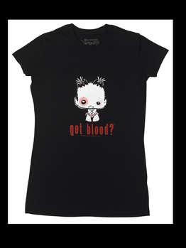 Got Blood? -- Women's T-Shirt, Snug Fit picture