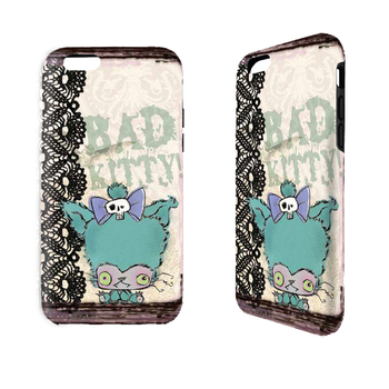 Bad Kitty - Cell Phone Cover picture
