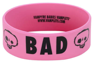BAD Wrist Band - PINK picture