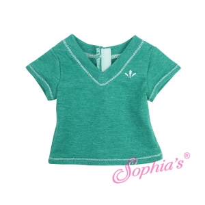 Green Heather V-Neck T picture