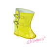 Yellow Rain Wellies