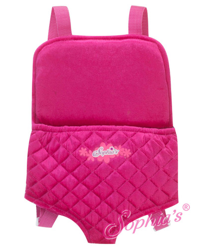 "18"" Doll and Plush Carrier Back Pack picture"