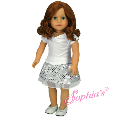 """Carly"" - Dressed Auburn Doll picture"