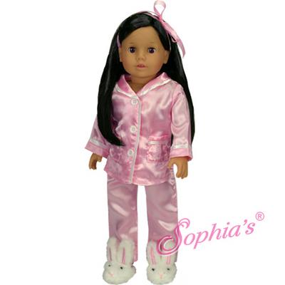 """Julia"" - Dressed Dark Brown Doll picture"