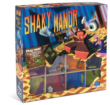 Shaky Manor - The tilted treasure hunt! picture