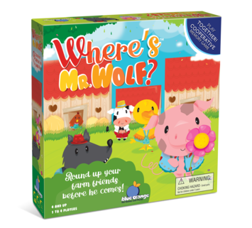 Where is Mr. Wolf? - Round up your farm friends before he comes! picture