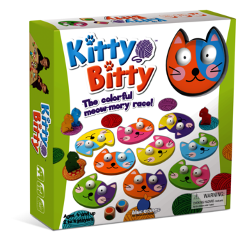 Kitty Bitty - The colorful meow-mory race! picture