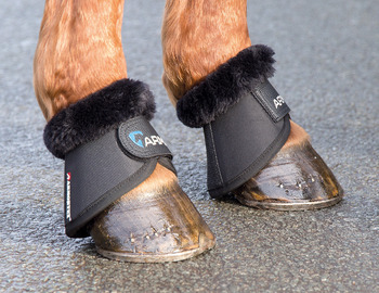 ARMA Fur Trimmed Bell Boots picture