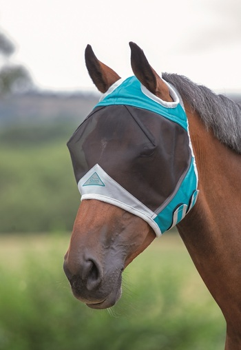 Fine Mesh Fly Mask with Ear Holes picture