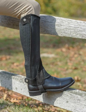 Children's Mesh Half Chaps picture