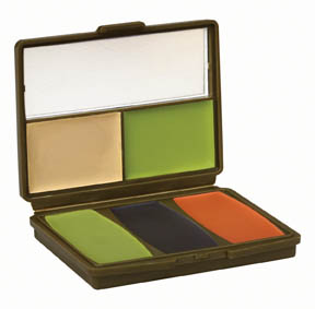 Camo-Compac® 5 Color Military Woodland Makeup Kit picture