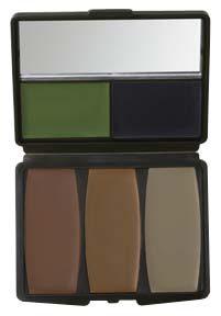 Camo-Compac&reg; 5 Color Military Forest Makeup Kit picture