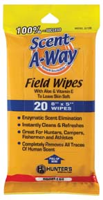 Scent-A-Way® Field Wipes picture
