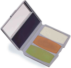 Camo-Compac® 4 Color Woodland/Bark Gray Makeup Kit picture