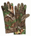 Small Size Spandex Unlined Gloves-Realtree® Xtra Green™