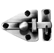 Cabinet Latches - Flush Doors